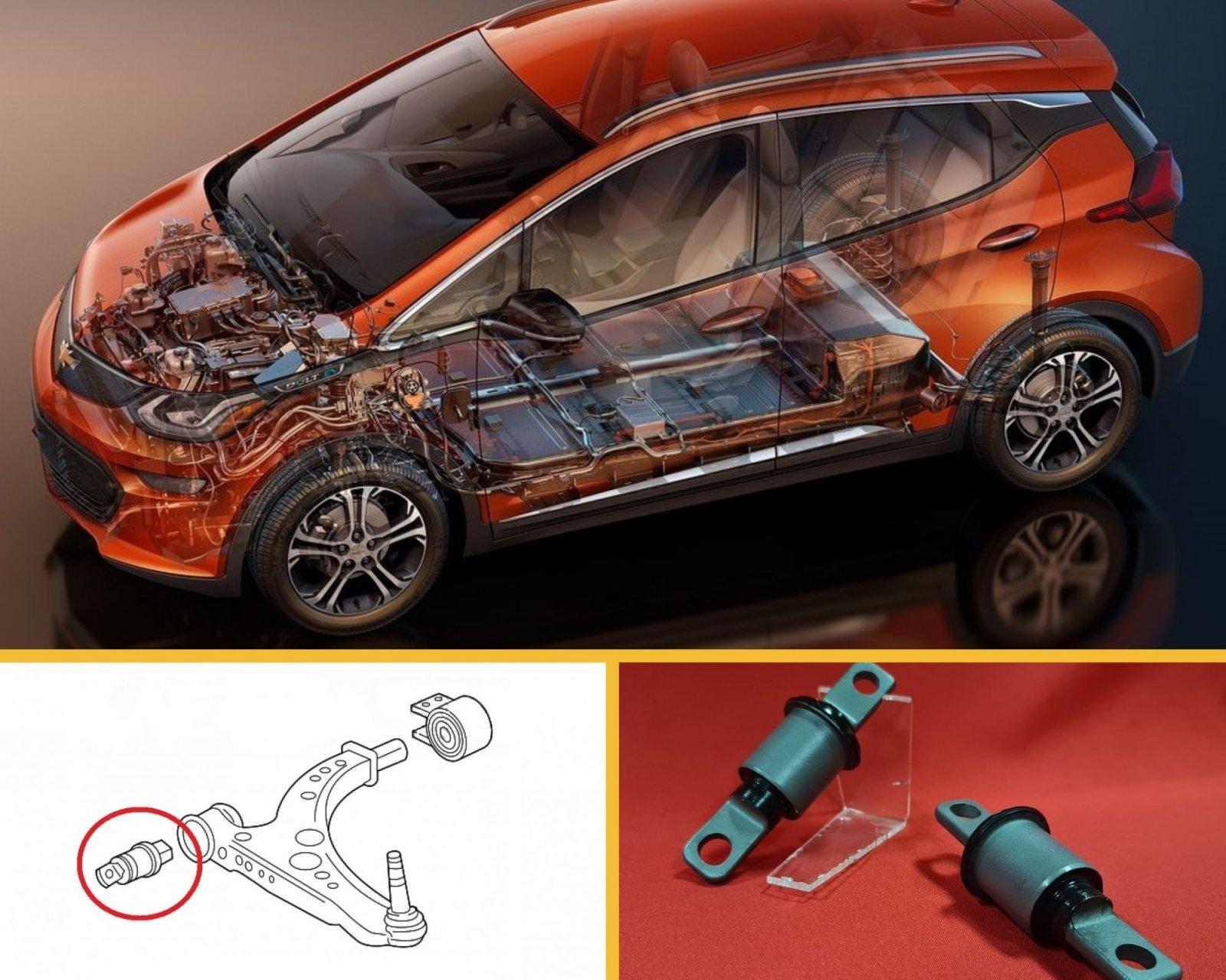 Виготовлення сайлентблоків  до Chevrolet Bolt EV