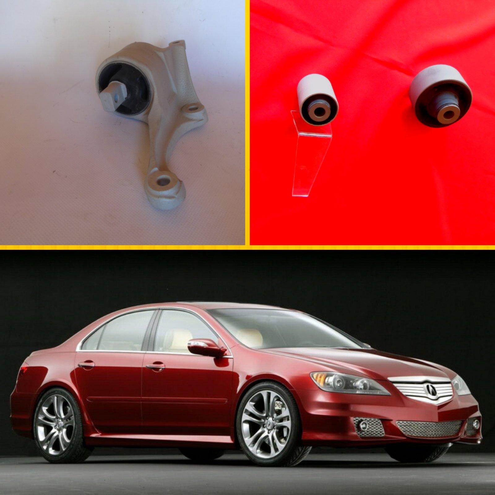 Відновлення всіх сайлентблоків та кулоьвих опор передніх важелів, а також опори АКПП на Acura RL