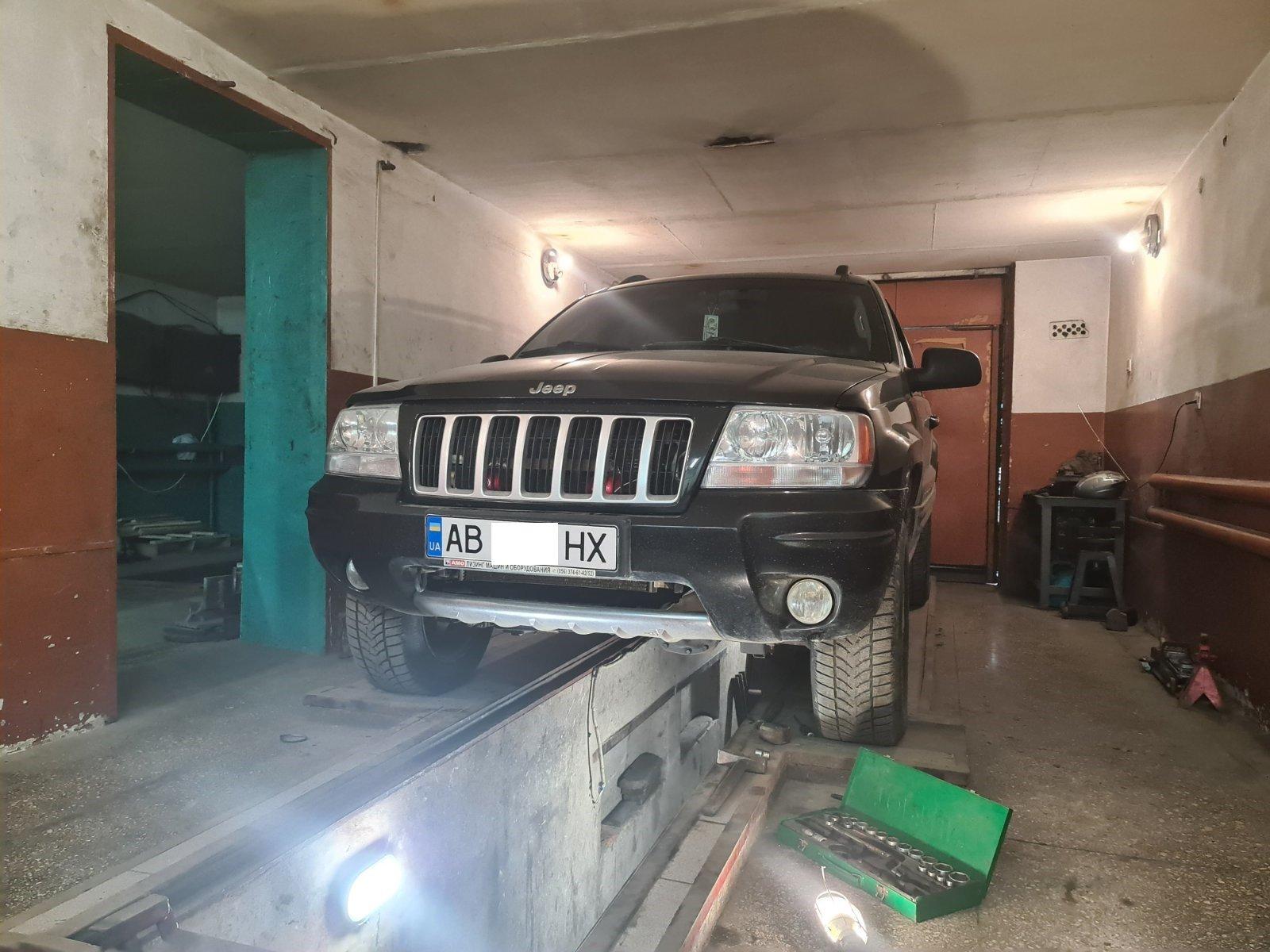 Jeep Grand Cherokee відновлення сайлентблоків