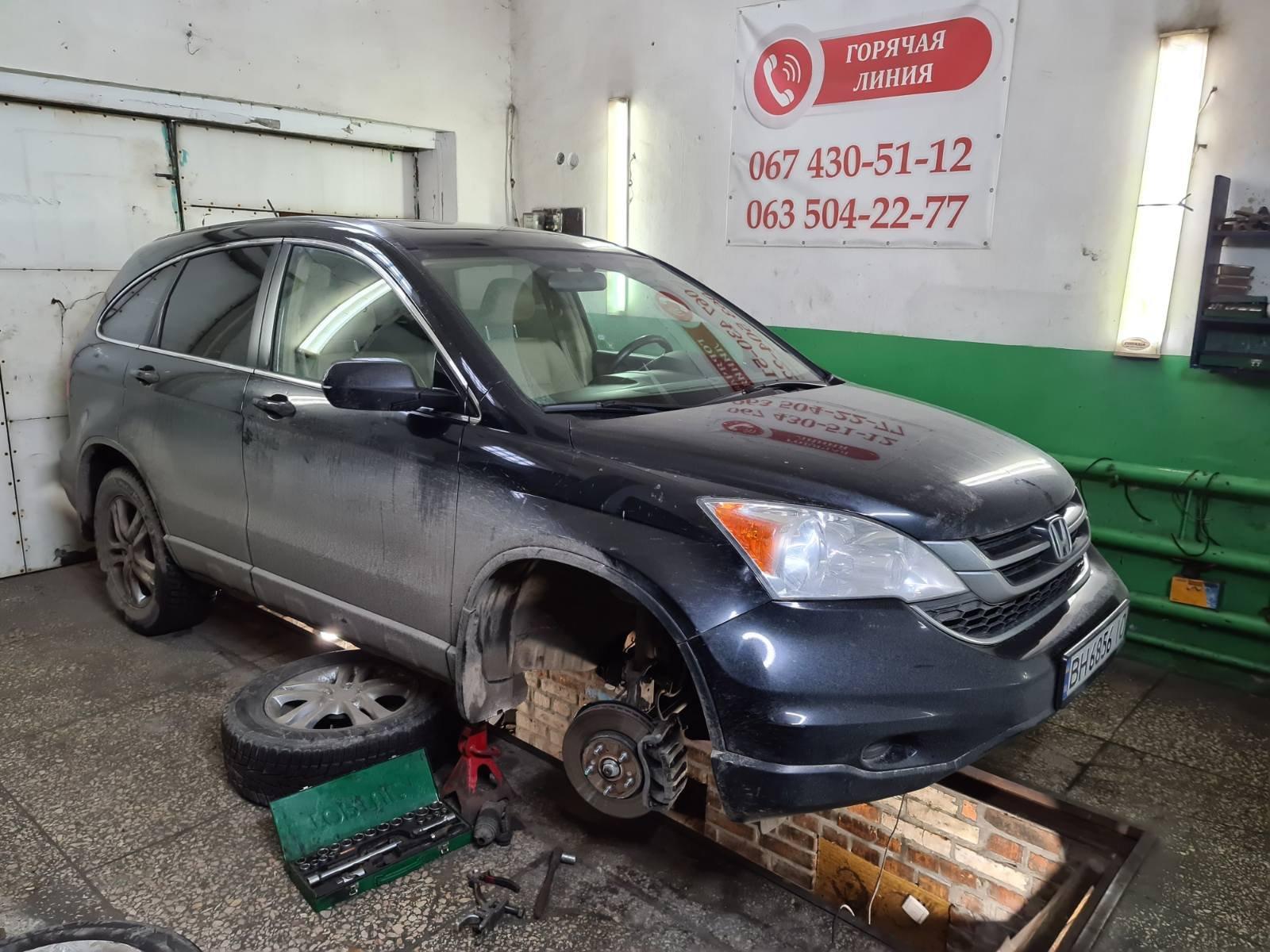 Відновлення рульових тяг до Honda CR-V III