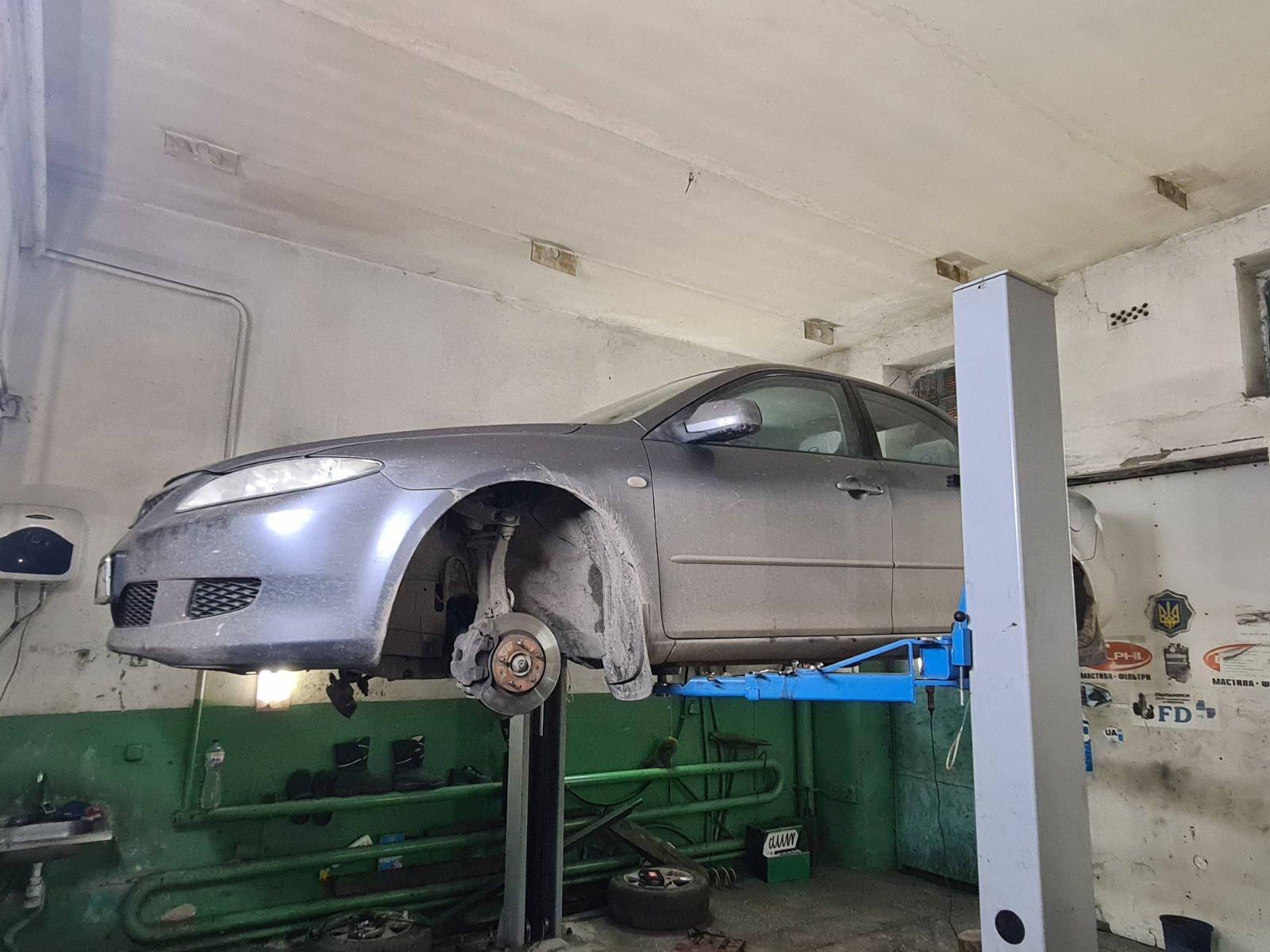 Відновлення передніх сайленблоків для Mazda 6