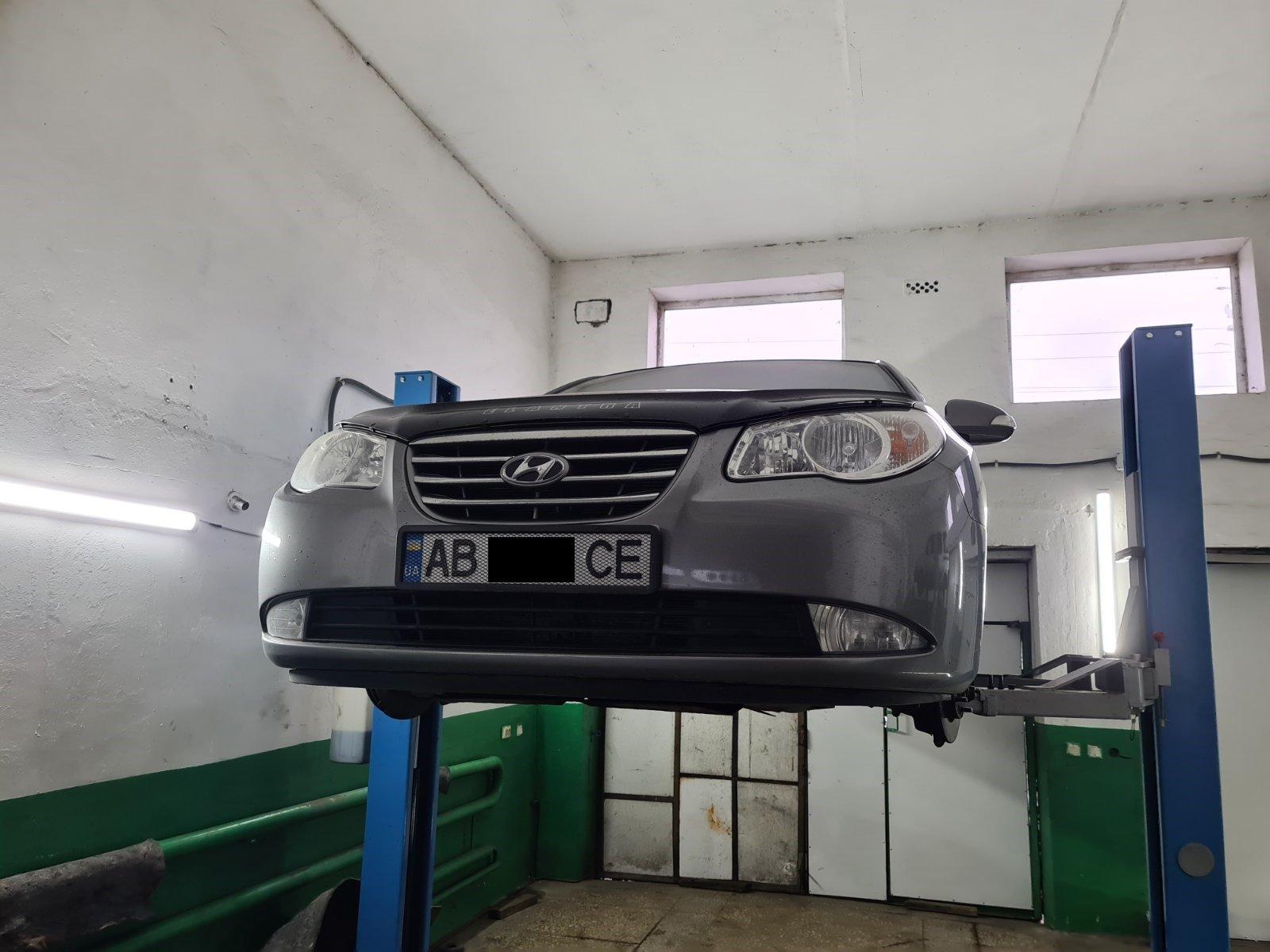 Відновлення кульової  опори  Hyundai Elantra 2009