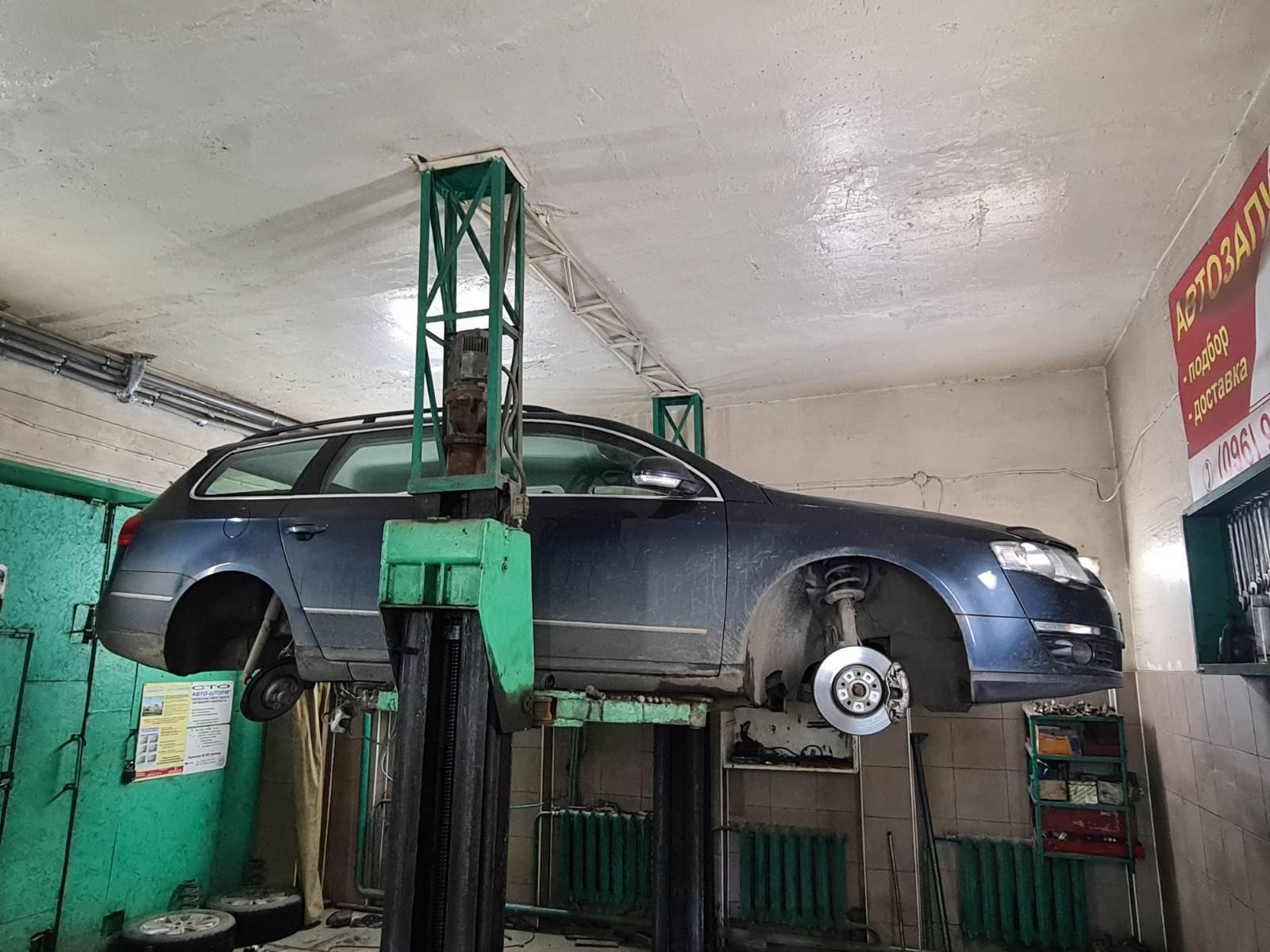 Відновлення передньої та задної підвіски  Volkswagen Passat B6