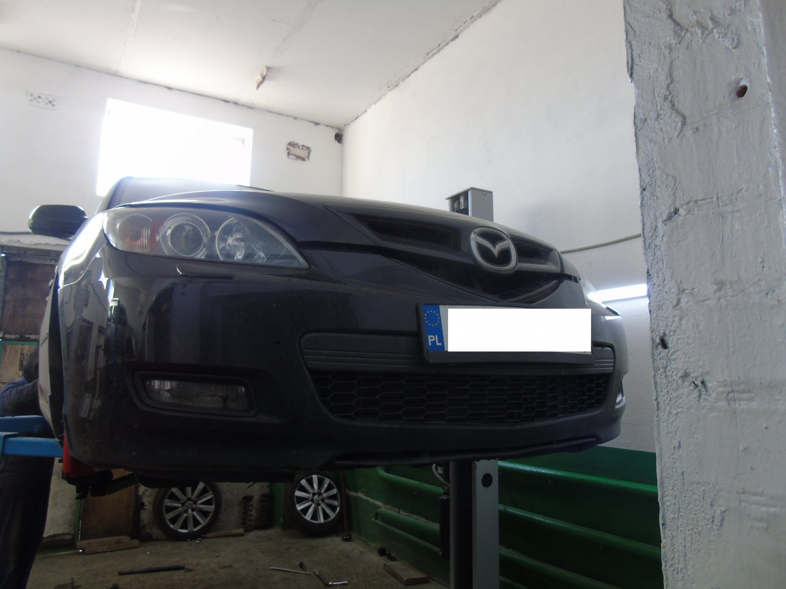Відновлення задньої підвіски на Mazda 3
