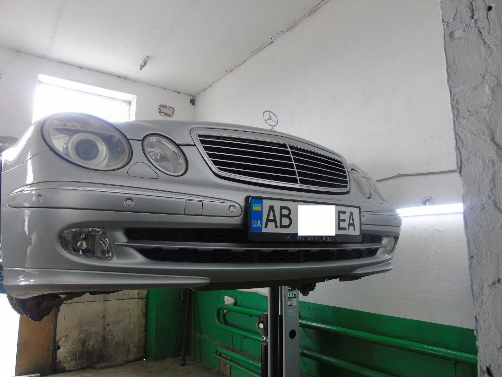 Відновлення передній стійок стабілізатора на Mercedes-Benz E CLASS w 211.