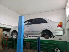 Suzuki Liana відновлення сайлентблоків задньої підвіски