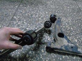 Відновлення передніх важелів на Opel Zafira